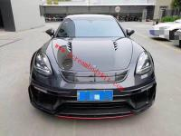 Porsche Panamera 971 update mansory wide body kit front bumper after bumper side skirts spoiler fenders