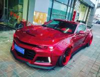 New Chevrolet Camaro 6th update wide body kit front lip fenders side skirts spoiler after lip front bumper