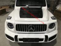 Mercedes-Benz w464 G update Brabus dry carbon fiber hood