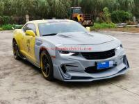 5 GEN Chevrolet Camaro update BUMBLE BEE Transformers wide body kit front bumper after bumper hood wing side skirts