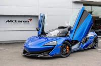 Mclaren 540C/570S/570GT update 600LT dry carbon fiber body kit front lip rear diffuser rear lip side skirts spoiler