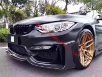 BMW F80 F82 M3 M4 MAD carbon fiber front lip rear lip