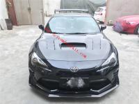 Toyota GT86 body kit front lip side skirts hood spoiler carbon fiber
