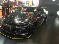 Volkswagen Scirocco R wide body kit