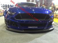 Mustang body kit wide front bumper rear bumper side skirts spoiler1