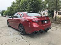 Alfa Romeo Giulia body kit front lip after lip side skirts wing hood