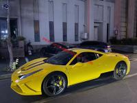 Ferrari 458 ITALIA/SPIDER body kit front bumper hood and after lip