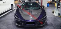 Mclaren 720S hood dry carbon fiber novitec