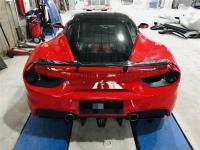 Ferrari 488 GTB spoiler Novite dry carbon fiber