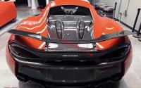 Mclaren 540/570 engine cover hood dry carbon fiber