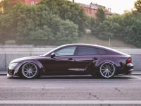 10-17 Audi A7S7RS7 body kit wide fenders side skirts spoiler