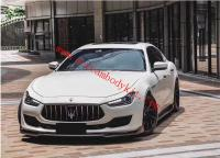 18 Maserati Ghibli body kit front lip rear lip side skirts carbon fiber