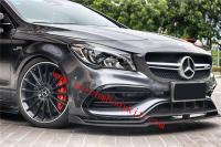 Mercedes-Benz cla45/200/220/260 front lip rear lip side skirts spoiler carbon fiber