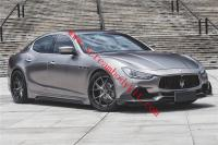 Maserati Ghibli front lip rear lip side skirts spoiler carbon fiber