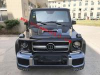Mercedes-Benz W463 G500 G550 G350D G63 BRABUS wide body kit and spoiler and hood