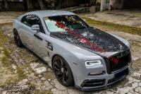 Rolls-Royce Wraith body kit mansory front bumper rear bumper side skirts